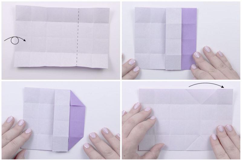 Japanese Envelope Box via @paper_kawaii
