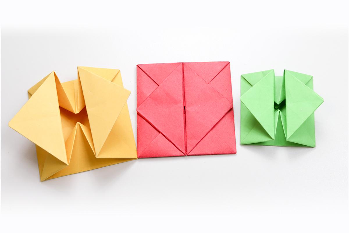 Злые собаки, оригами идеи открытки