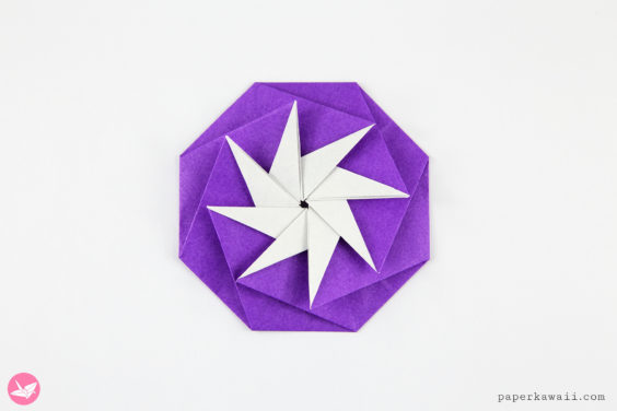 Origami 8 Point Star Tato Tutorial