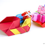 Origami Santa's Sleigh Tutorial
