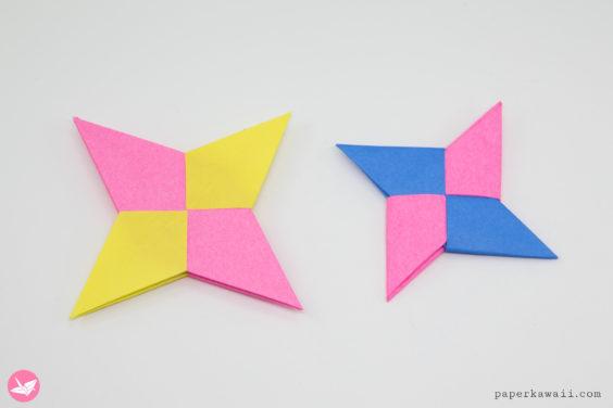 Origami Symmetrical Shuriken Star Tutorial