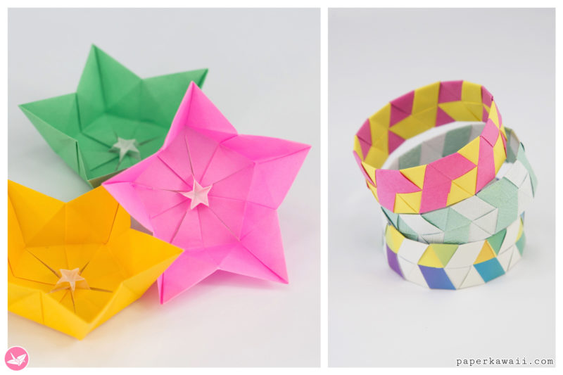 Kawaii Origami - Super Cute Origami Projects for Easy Folding Fun via @paper_kawaii