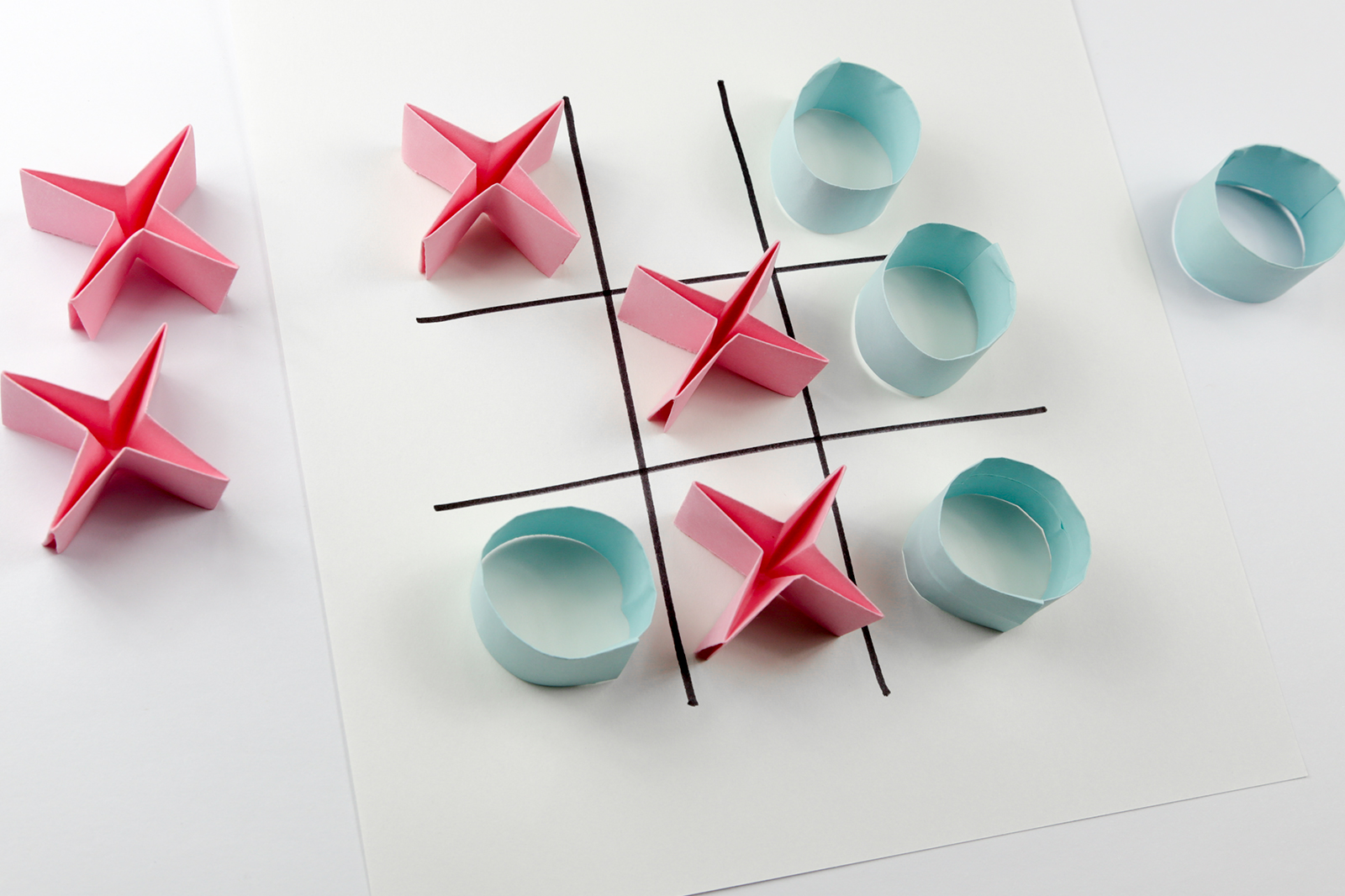 How to craft the origami finger game - Hellokids.com | 1066x1600