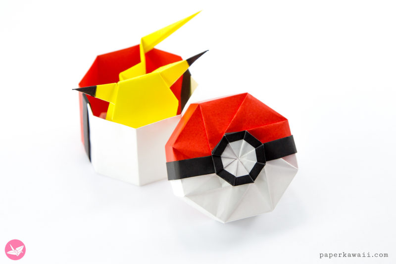 Octagonal Origami Box Tutorial via @paper_kawaii