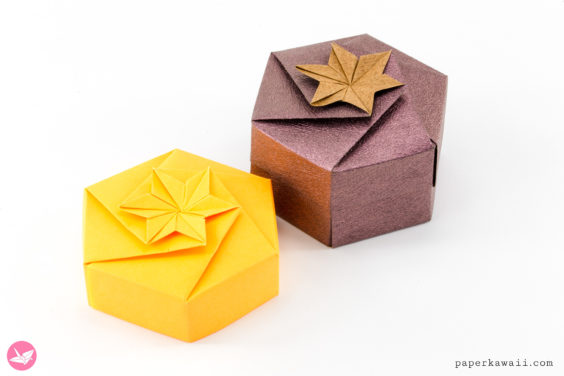 Origami Hexagonal Gift Box Tutorial