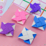 2 Sided Origami Pinwheel Tutorial