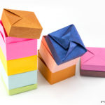 Origami Stacking Spice Boxes Tutorial