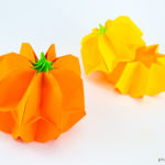 Origami Pumpkin Box Tutorial + Japan Candy Box Giveaway
